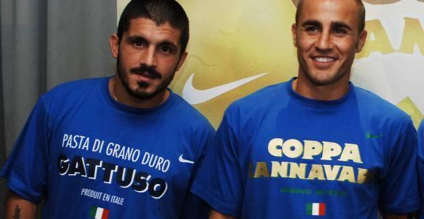 Gattuso e Cannavaro